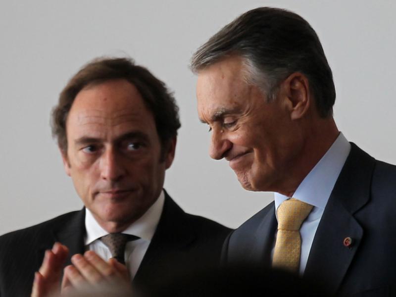 Cavaco Silva e Paulo Portas (LUSA)