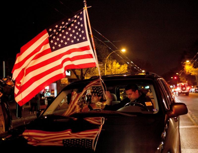 Americanos festejam (LUSA)