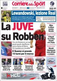Corriere dello Sport (25 de abril)