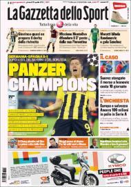 Gazzetta dello Sport (25 de abril)