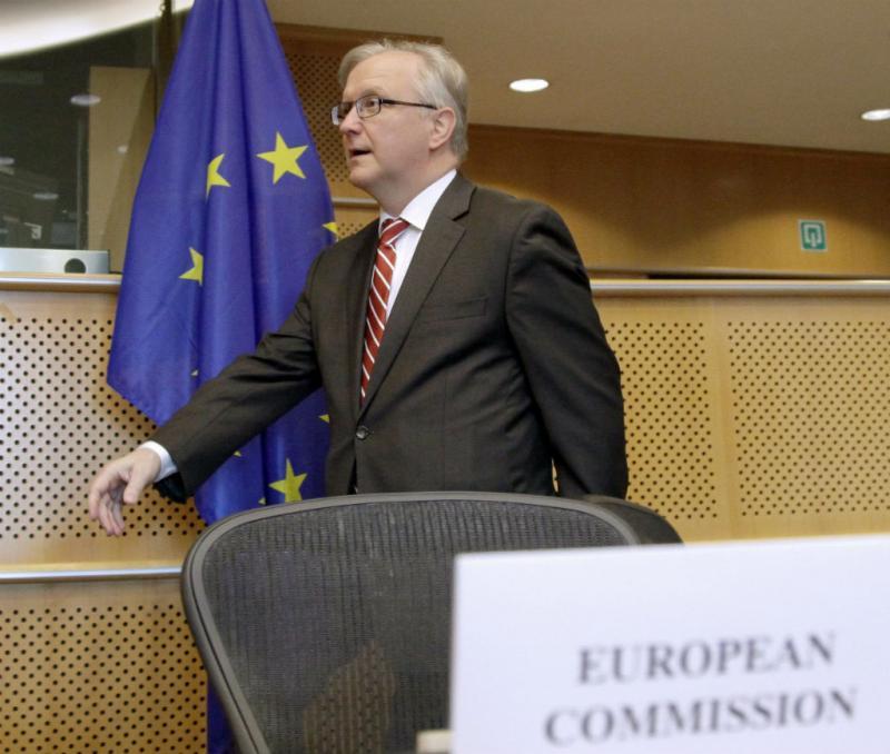 Olli Rehn (EPA/OLIVIER HOSLET)