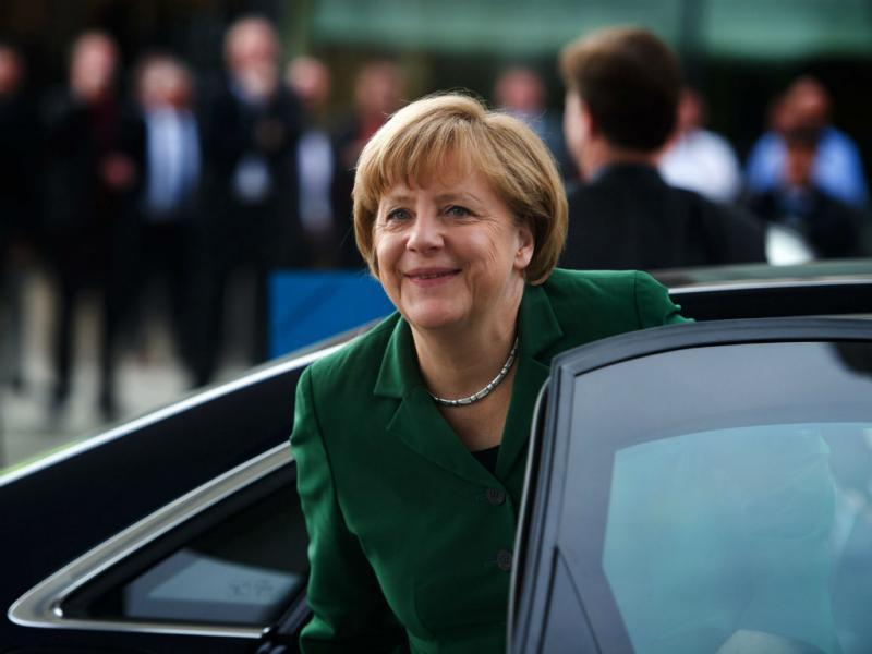 Angela Merkel (EPA/ARNO BURGI)