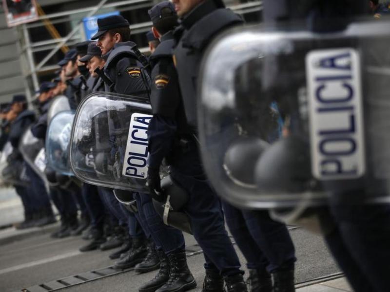 Protesto «assédio ao parlamento» em Madrid [Reuters]