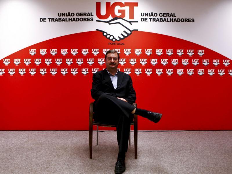 Carlos Silva, UGT (Lusa/Miguel A. Lopes)