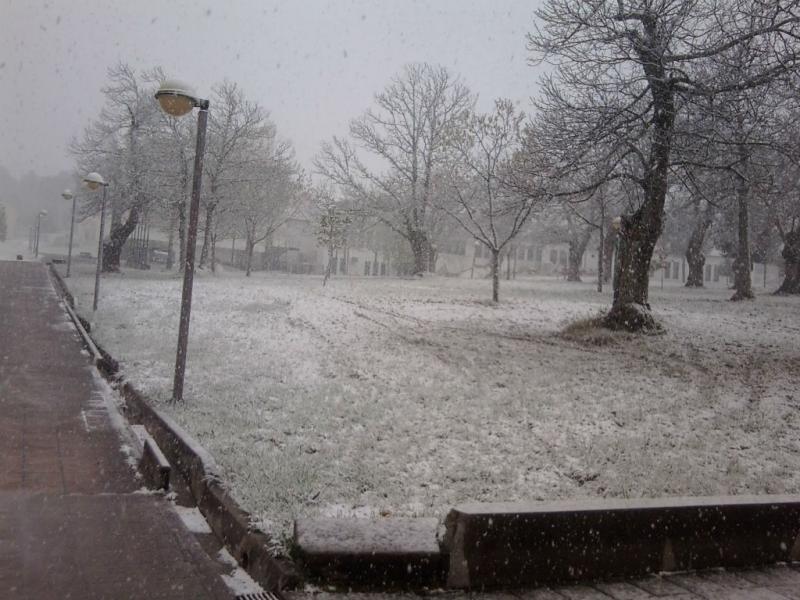 Neve na Guarda (EUVI/Tiago Almeida)