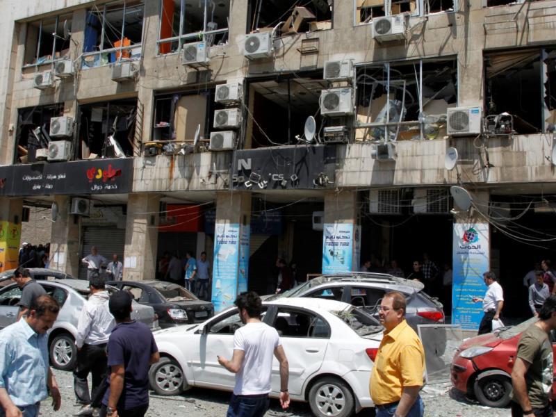 Atentado em Damasco (REUTERS/Khaled al-Hariri)