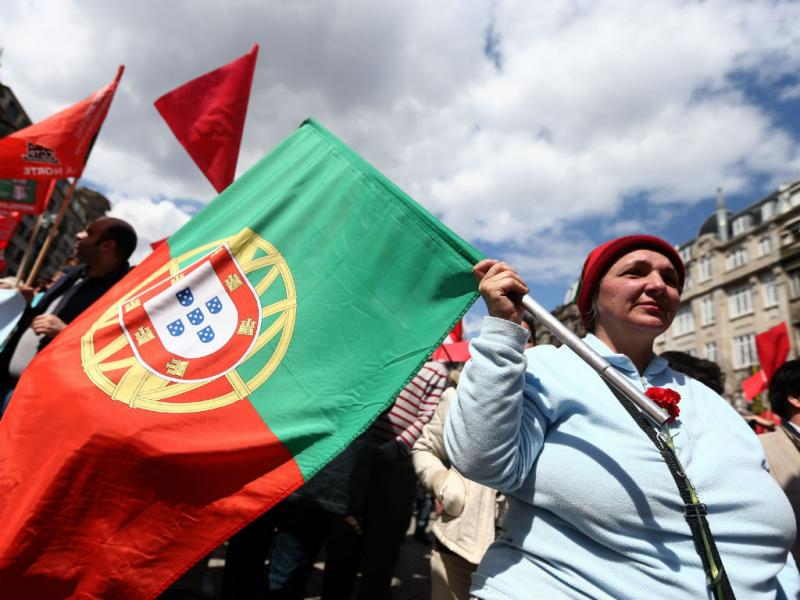 1 de maio no Porto (Lusa/José Coelho)