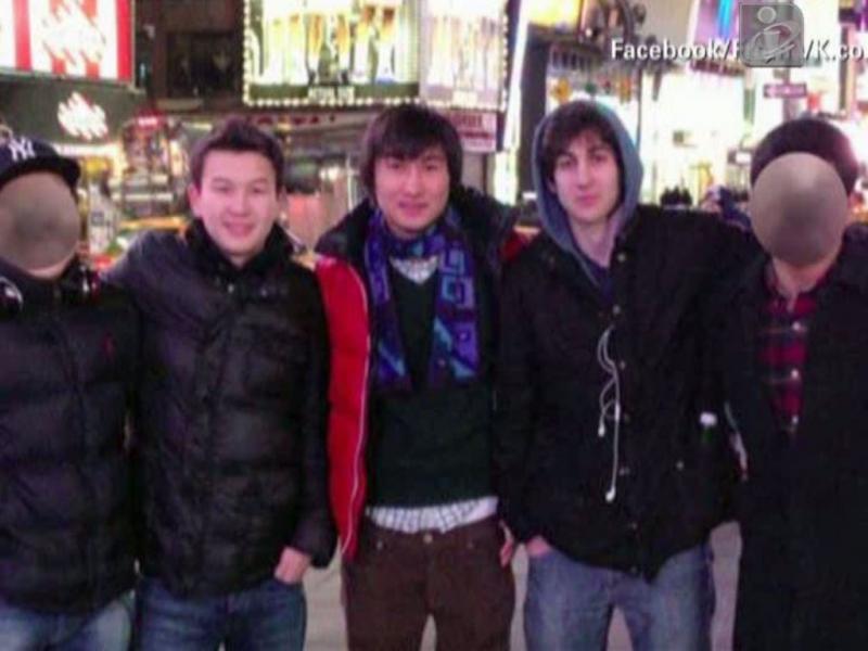 Colegas de Dzhokhar Tsarnaev detidos