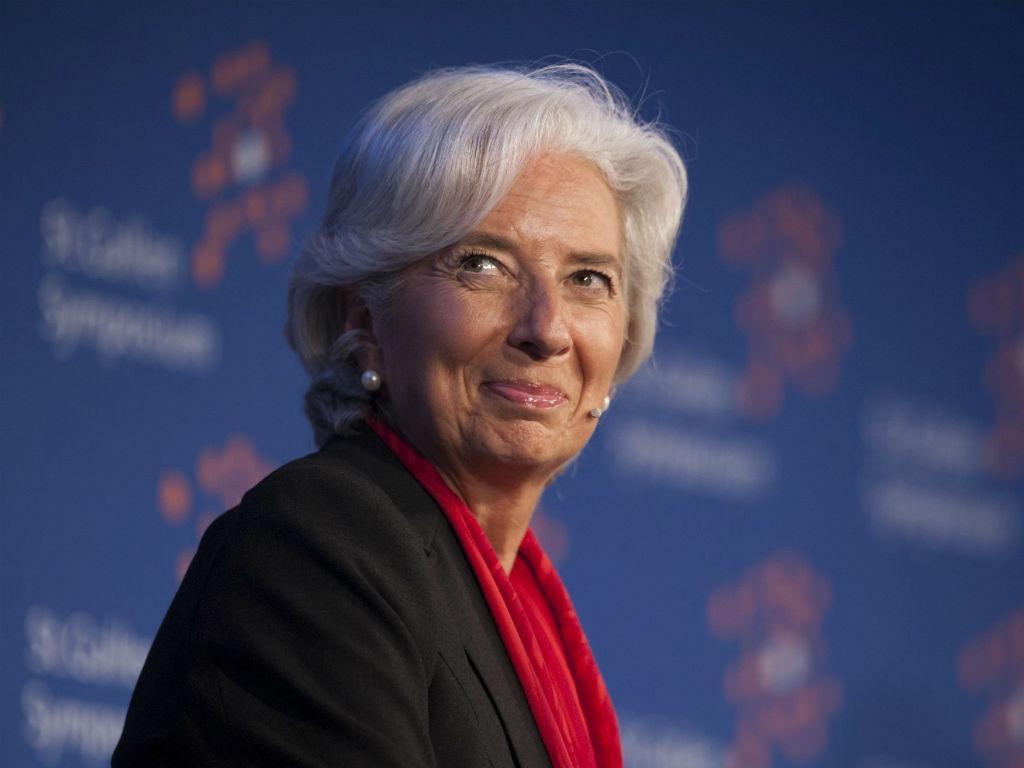 Christine Lagarde (EPA/GIAN EHRENZELLER)