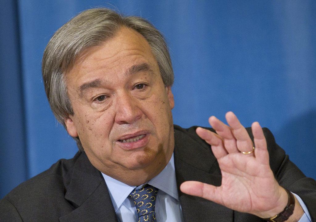 António Guterres (arquivo)