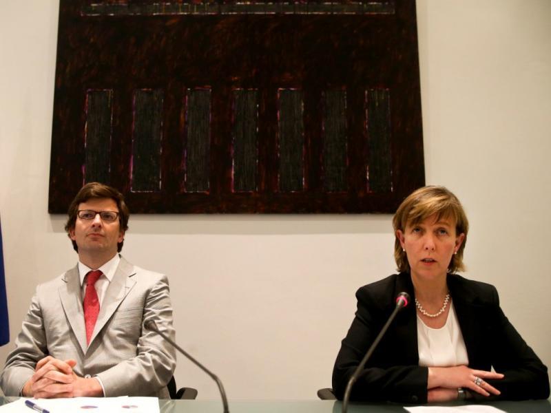 João Moreira Rato e Maria Luís Albuquerque (LUSA)
