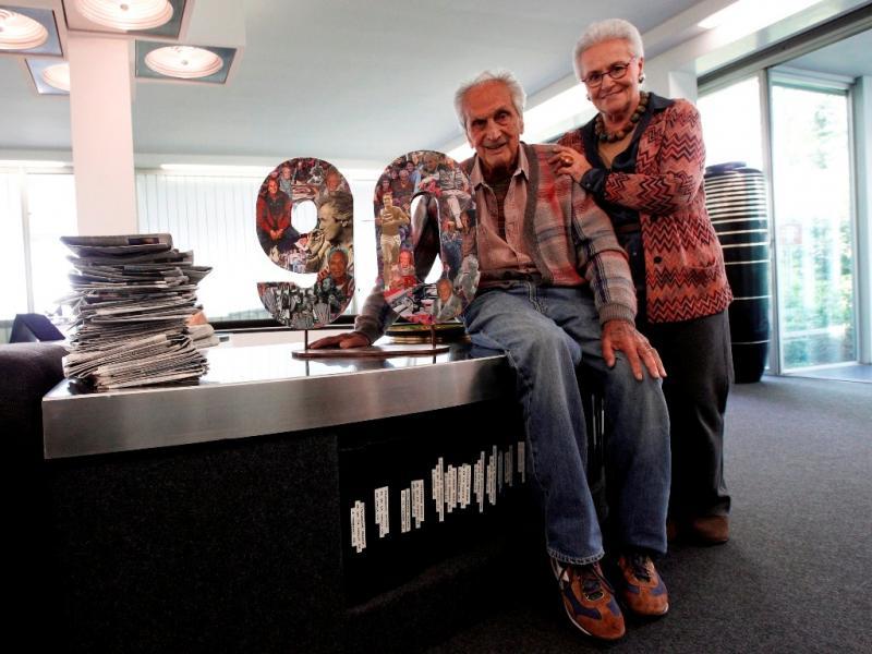 Morreu um dos pais da moda italiana, Ottavio Missoni, aos 92 anos (Reuters)