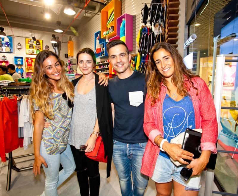 Fotos  Famosos na abertura da nova loja Quiksilver em Aveiro 936046c38d