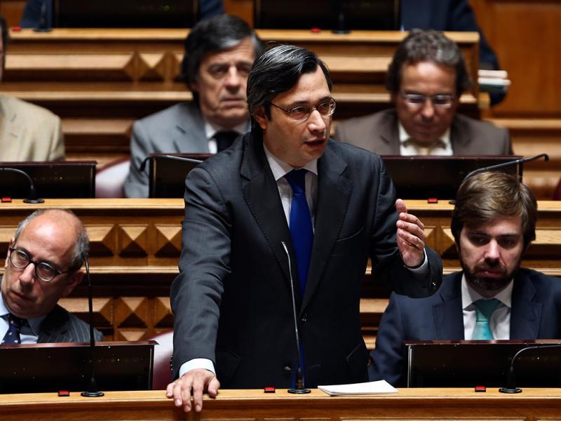 Debate com Passos Coelho no Parlamento (JOÃO RELVAS / LUSA)