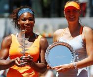 Serena Williams e Maria Sharapova Foto: Reuters