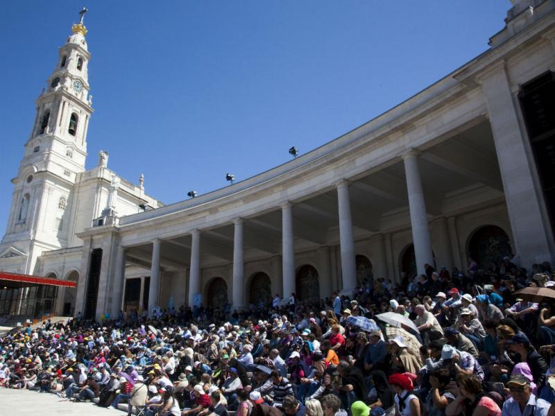 Fátima: mais de meio milhão de peregrinos em dois dias (Lusa/Paulo Cunha)