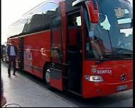 Benfica no aeroporto