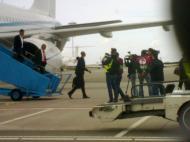 Benfica chega a Amesterdão
