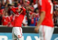 Benfica vs Chelsea - 27 Mar. 2012 (Reuters)