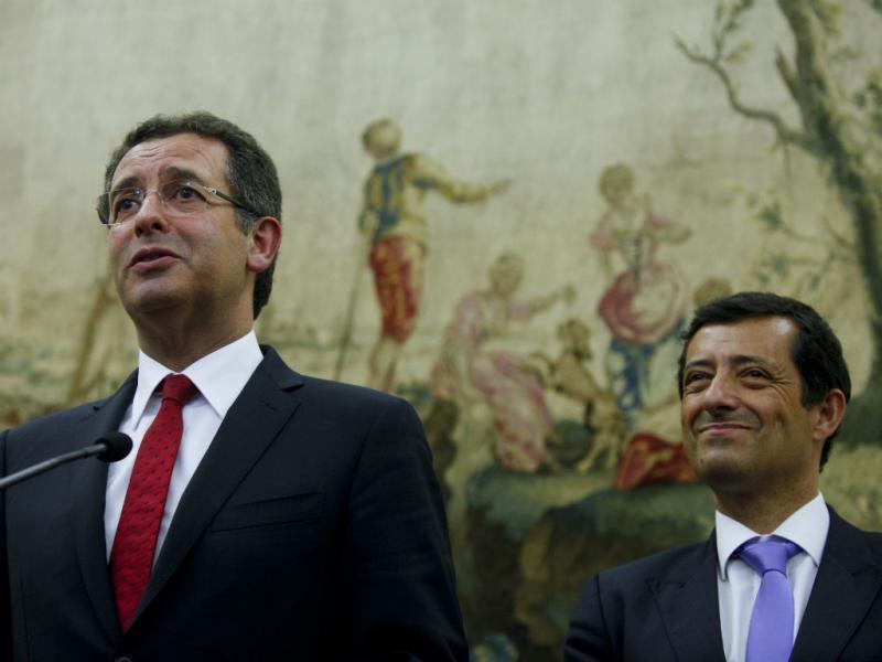 António José Seguro e Carlos Zorrinho (Lusa/Miguel A. Lopes)
