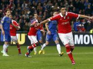 Benfica vs Chelsea (REUTERS)