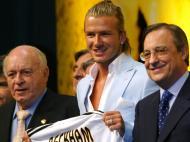 David Beckham: 2003, mudança mediática para o Real Madrid na era dos Galácticos