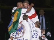 David Beckham: campeão no Real Madrid em 2006/07