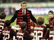 David Beckham: no Milan, em 2009