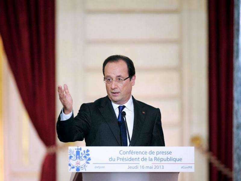 François Hollande (EPA/YOAN VALAT)