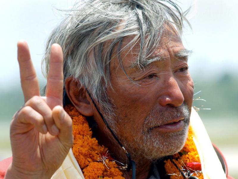 Aos 80 anos, o japonês Yuichiro Miura escalou o Evereste (Reuters)
