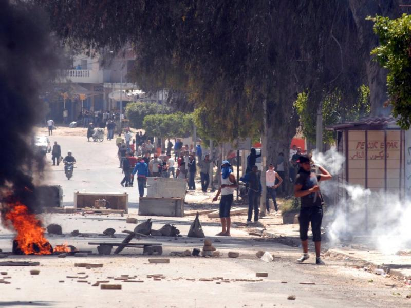 Confrontos na Tunísia (Reuters)