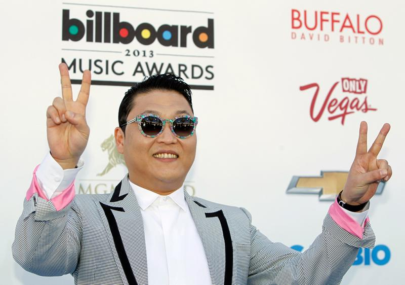 Psy nos Billboard Music Awards 2013 (Reuters)