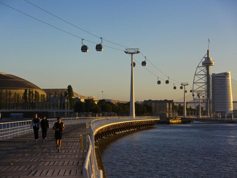 Parque das Nações (Lusa/Mário Cruz)