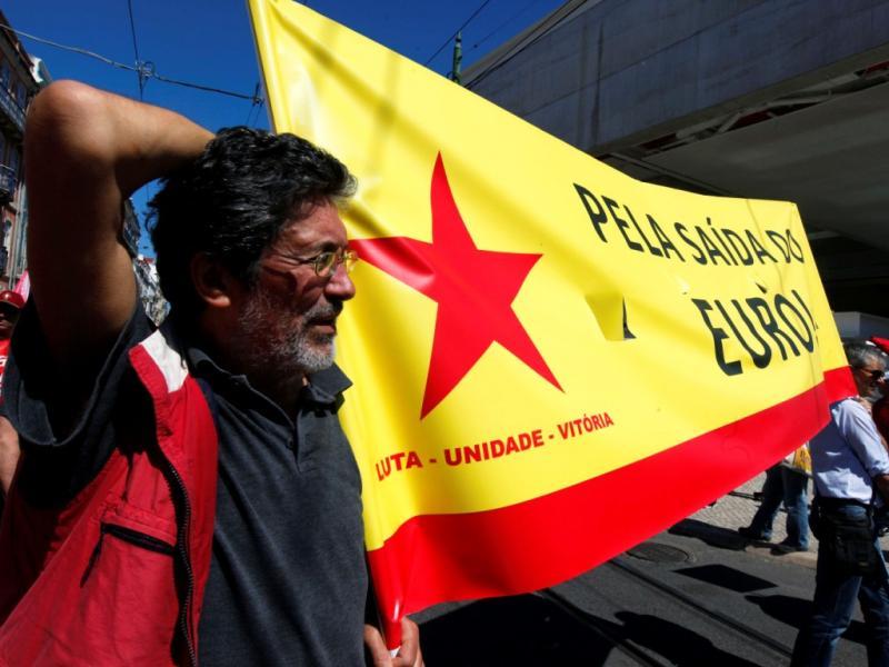 Manifestação da CGTP em Belém [LUSA]