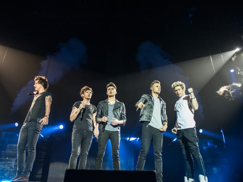 One Direction no Pavilhão Atlântico (foto: Luís Carvalhal)