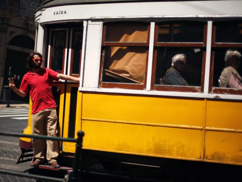 Elétrico em Lisboa (Reuters)