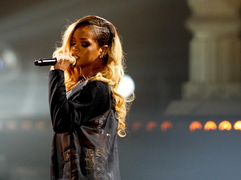 Rihanna no Pavilhão Atlântico (foto: Manuel de Almeida/Lusa)