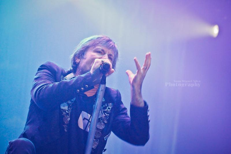 Iron Maiden ao vivo na MEO Arena (foto: Nuno Miguel Silva)