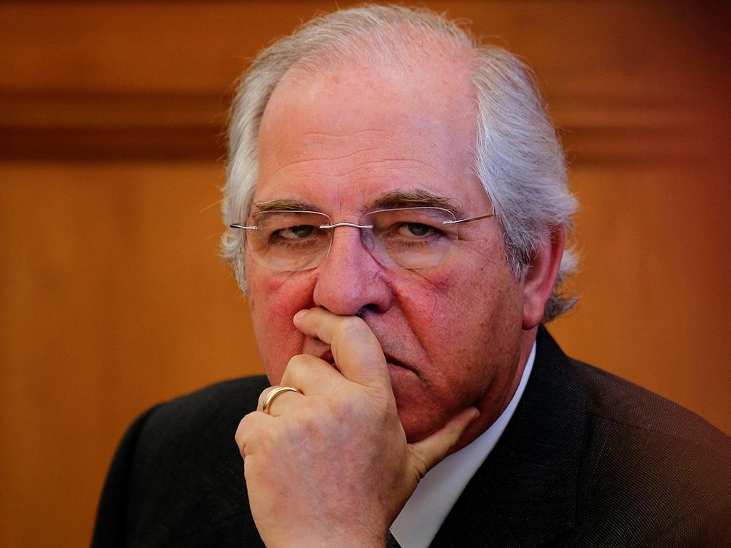 O presidente do Conselho Económico e Social, Silva Peneda, na Audição do Conselho Económico e Social na Comissão de Orçamento, Finanças e Administração Pública (JOSÉ SENA GOULÃO / LUSA)