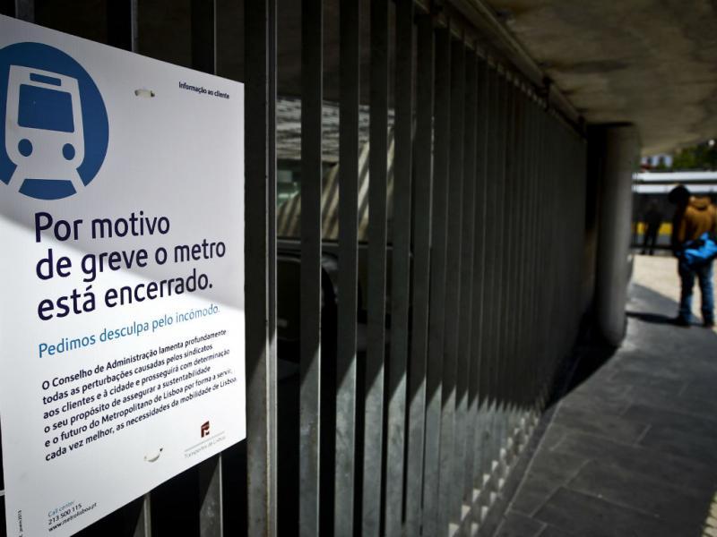 Greve do Metro (Lusa/Mário Cruz)