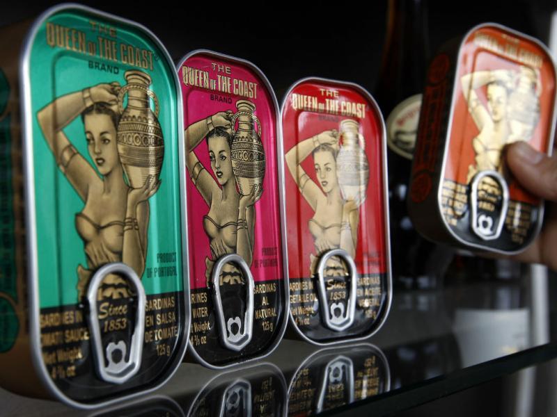 Industria da conserva exporta 70% da produção. Emprega 3500 pessoas e produz 250 milhões de latas (REUTERS/Jose Manuel Ribeiro)