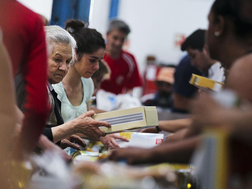 Campanha do Banco Alimentar (Lusa/José Sena Goulão)
