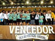 Sporting vence Taça