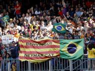 Neymar: a grande festa no Camp Nou