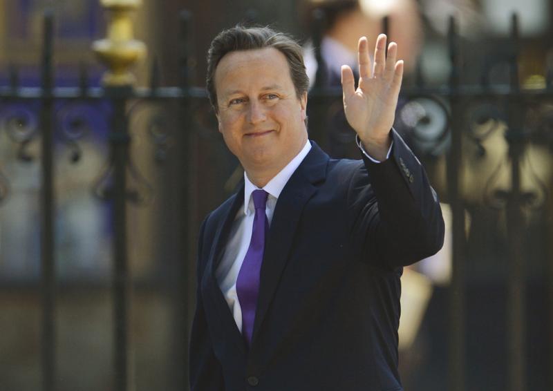David Cameron - 60º aniversário da coroação da Rainha Isabel II Fotos: Reuters
