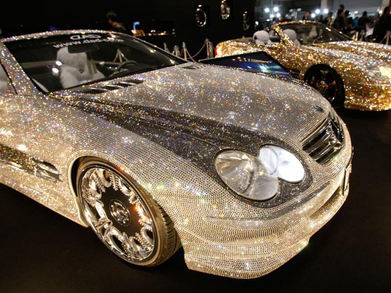 Mercedes-benz coberto de cristais Swarovski (reuters)