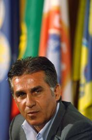 16/7/2008: Carlos Queiroz é apresentado como sucessor de Scolari na Seleção (Reuters/José Manuel Ribeiro)