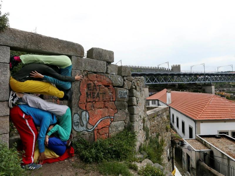 «Bodies in Urban Spaces» insere-se na 10.ª edição do Serralves em Festa, este fim de semana, no Porto. [JOSE COELHO/LUSA]