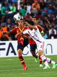Europeu de sub-21: Rodrigo em ação pela Espanha