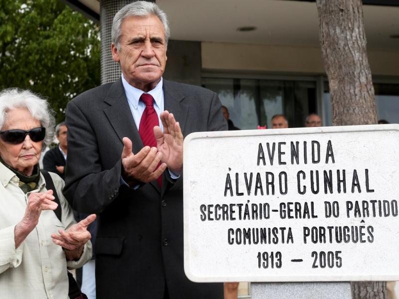 Inaugurada a Avenida Álvaro Cunhal (LUSA)